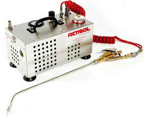 Actisol Machine