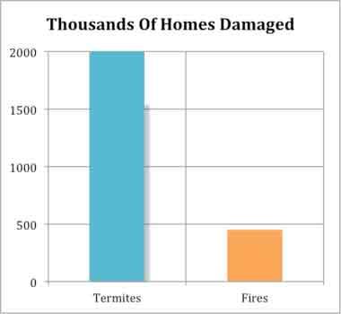 Termite Damage Statistics